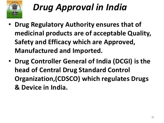 Regulations for drug approval in USA, E U & India