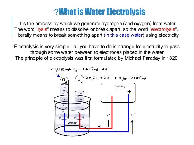 Chapter 5 hydrogen production.