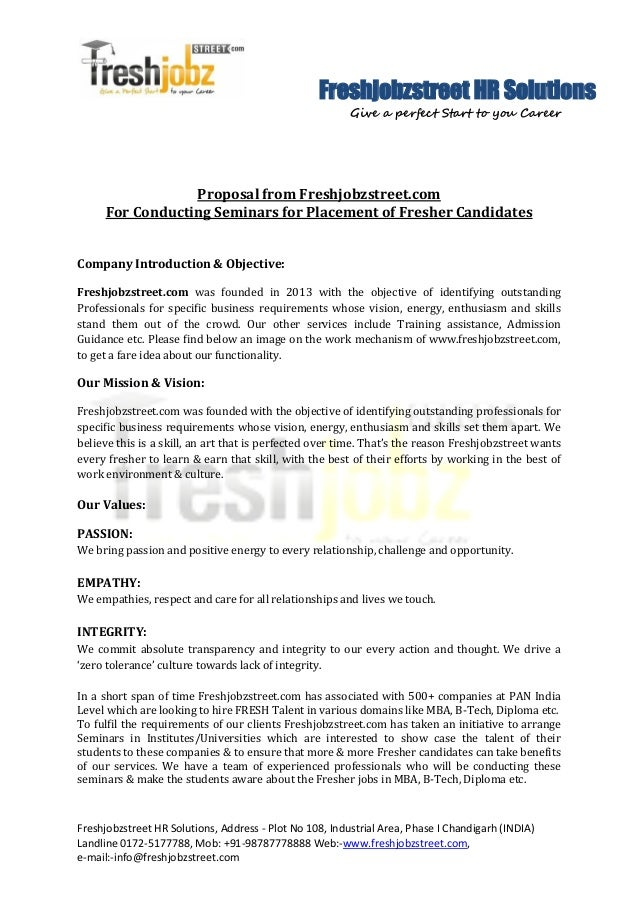 Freshjobzstreet HR Solutions Give a perfect Start to you Career Freshjobzstreet HR Solutions, Address - Plot No 108, Indus...