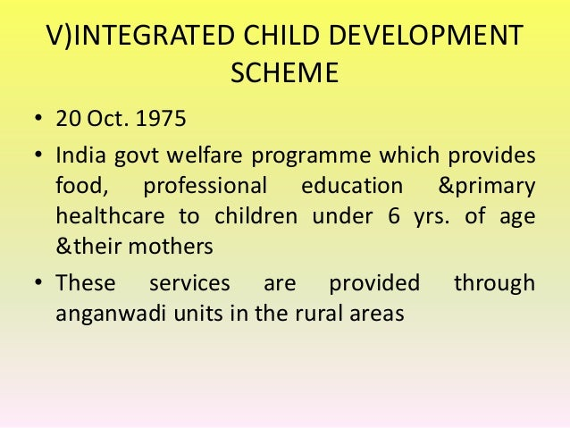 Integrated Rural Development Program In India