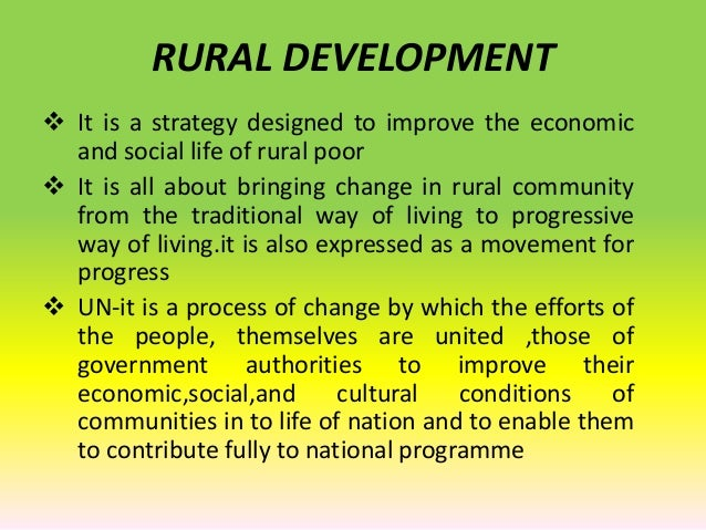 RURAL DEVELOPMENT PROGRAMMES EPUB