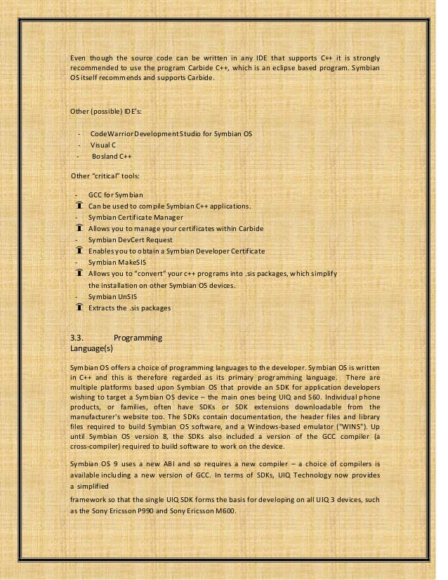 symbian essay Read and download symbian s60 5th edition free ebooks in pdf format  manual rar smoking problem and solution essay answers to.
