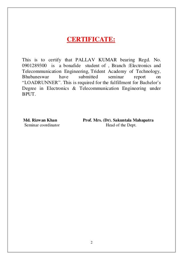 Seminar report certificatethis yelopaper Images