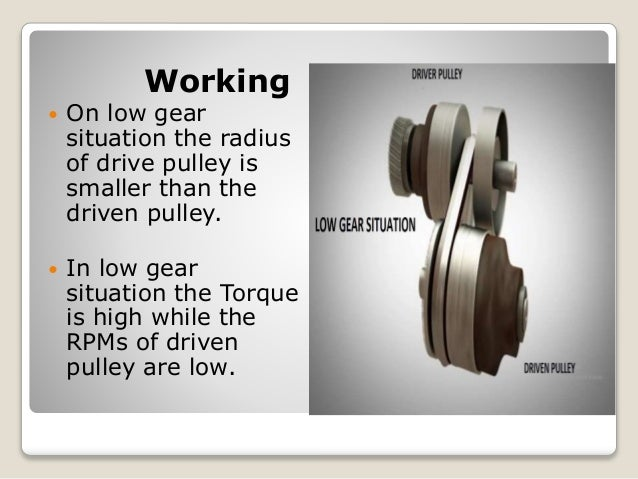 continuously variable transmission seminar report pdf