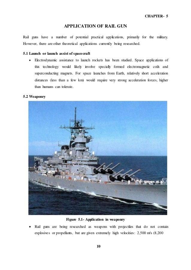 Rail gun Seminar report