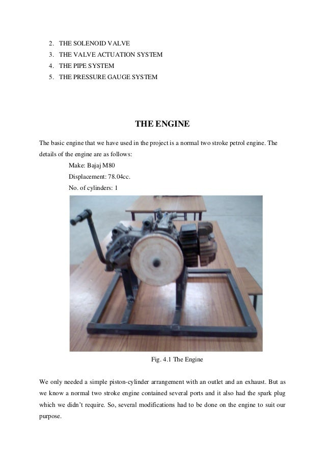 Seminar report on air driven engine