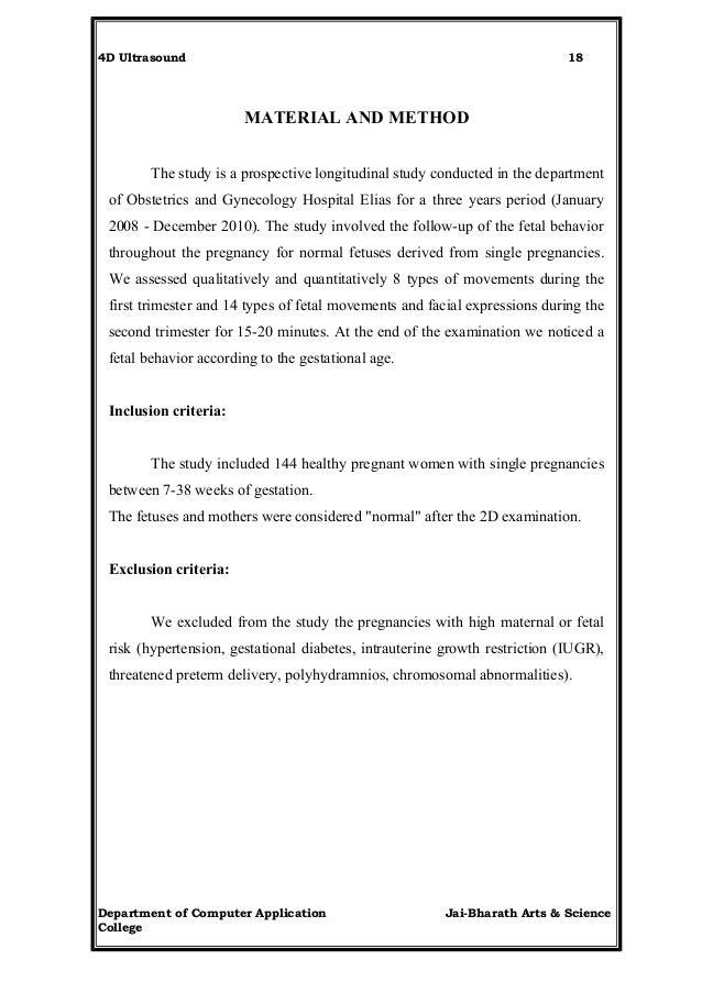 Seminar report 4 d ultrasound