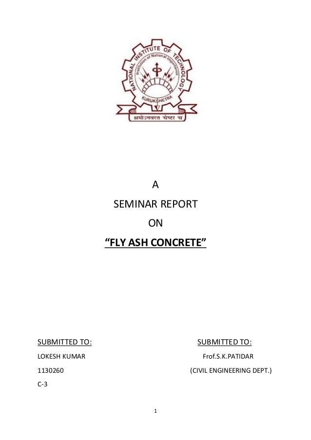 Civil Seminar Pdf