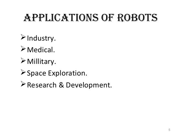 Robotics. Ppt download.