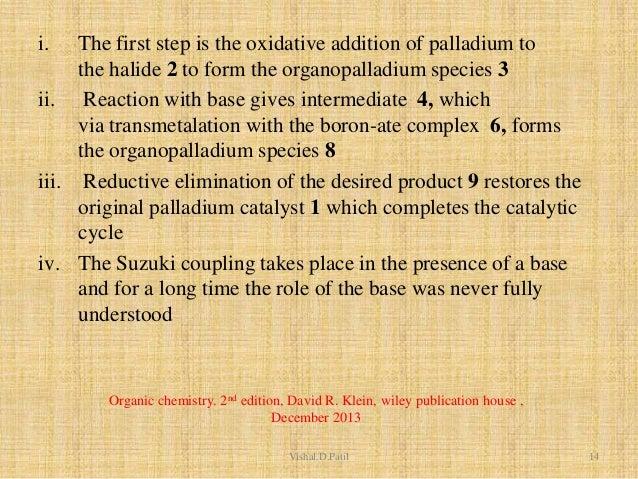 suzuki coupling reaction mechanism pdf