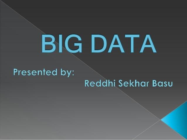 How much data?  800 Terabytes, 2001  60 Exabytes, 2006  500 Exabytes, 2009  2.7 Zettabytes, 2012  35 Zettabytes by 20...