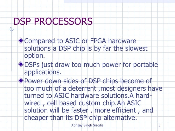 DSP by FPGA