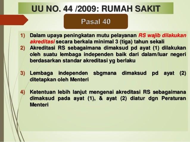 Bimtek Surveior Persiapan Akreditasi.pdf Kewajiban RS dan Pimpinan RS thd Sarana ,SDM RS & Hak Pasien