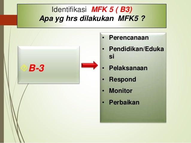 1. Identifikasi Elemen MFK 5 Standar MFK 5  RS mempunyai renc. tentang inventaris, penanganan, penyimpanan dan penggunaan...