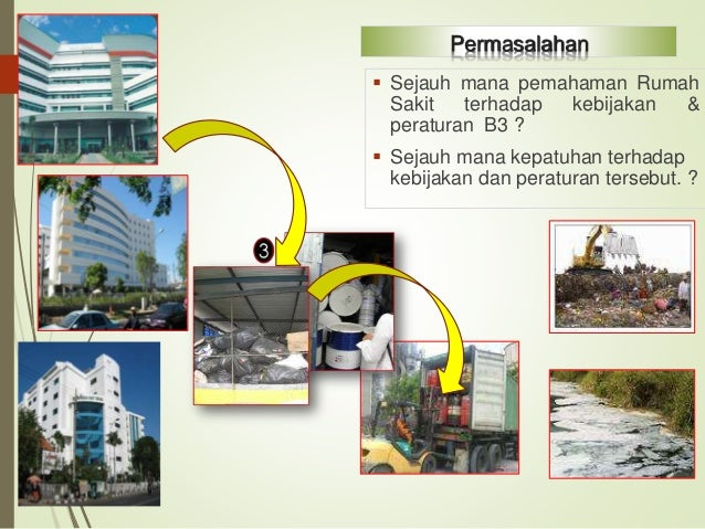 Problema Identifikasi, Pencatatan & Pelaporan, Berdampak Status Proper RS BIRU Seluruh limbah B3 yang dihasilkan dan atau ...