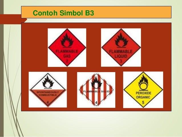Contoh Simbol B3