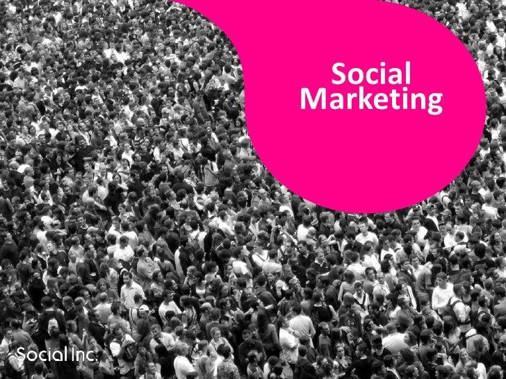 Social Marketing <br />