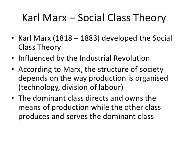 the social theories of karl marx Among the former are concepts such as the labour theory of value generous social welfare programmes and effective jonathan sperber's karl marx is published.