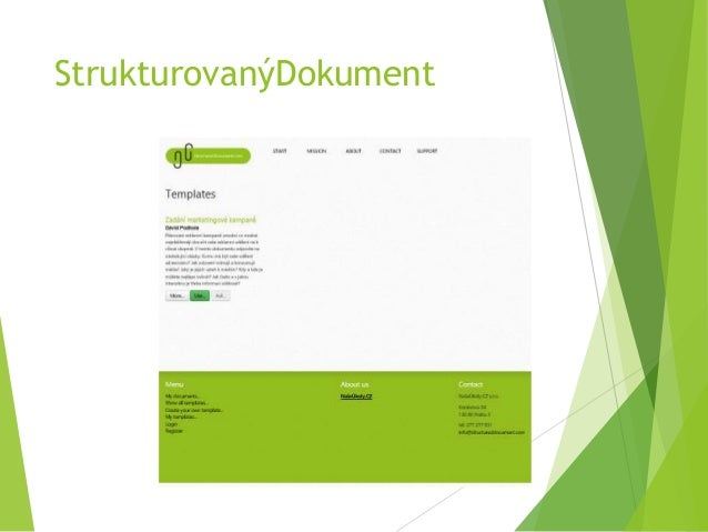 StrukturovanýDokument