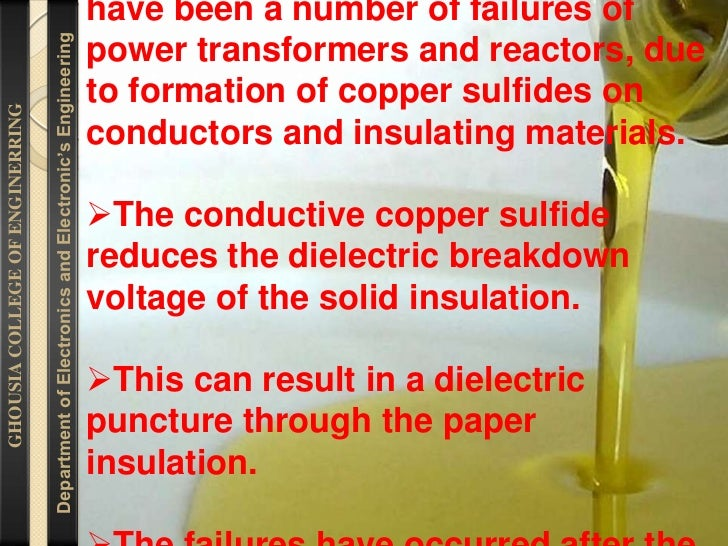 TRANSFORMER OIL TESTING FOR CORROSIVE SULFUR BY SHIVAKUMAR                                  shivakumar Slide 2