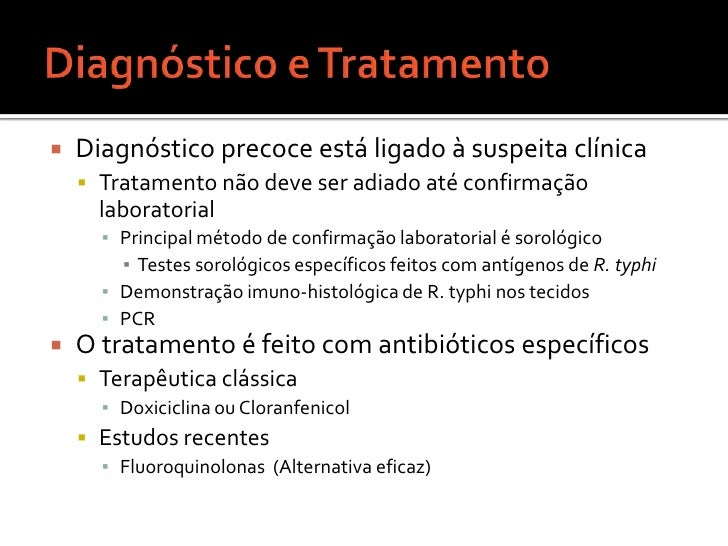 Sintomas<br />Rickettsia typhi  habita células endoteliais dos vasos sangüíneos do homem<br />Causa inflamação, obstrução ...