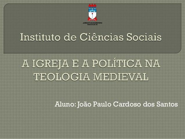 Aluno: João Paulo Cardoso dos Santos