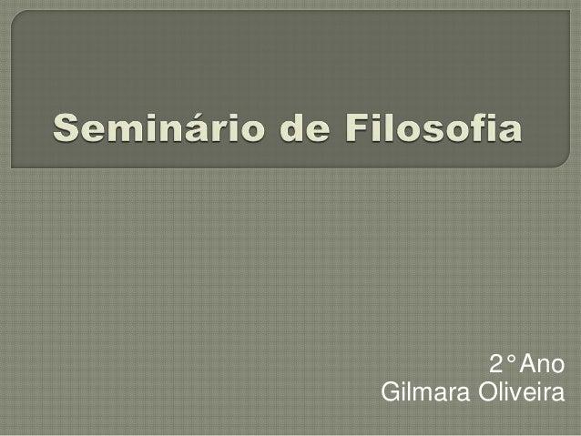 2° Ano Gilmara Oliveira