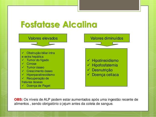Exame fosfatase alcalina