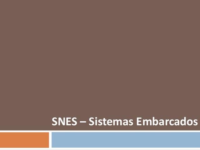 Seminário de Sistemas Embarcados - Análise sobre Super