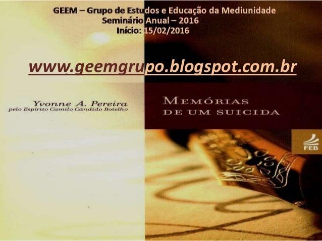 1 www.geemgrupo.blogspot.com.br
