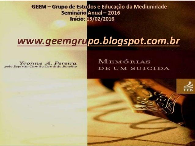 www.geemgrupo.blogspot.com.br 1