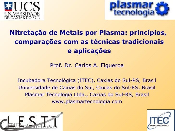 Prof. Dr. Carlos A. Figueroa Incubadora Tecnol ógica (ITEC),  Caxias do Sul-RS, Brasil Universidade de Caxias do Sul, Caxi...