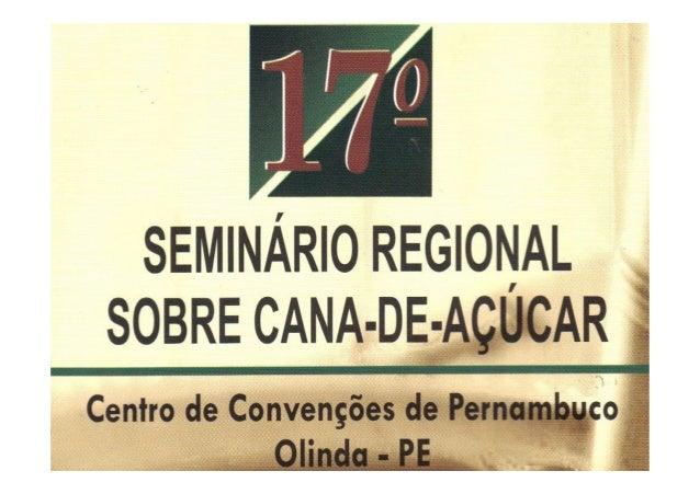 LEVEDURA SECA INATIVASaccharomyces cerevisiaeRecife-PE, 17 de Abril de 2013