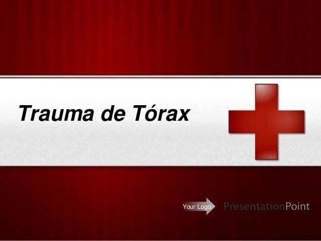 Your Logo Trauma de Tórax