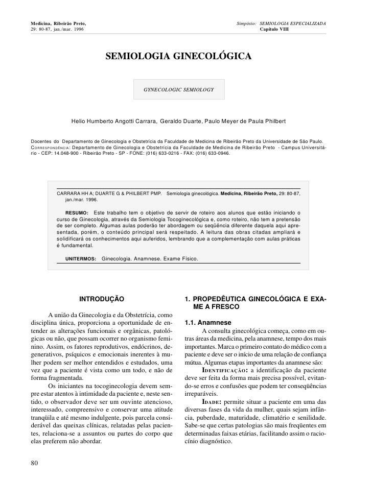 Medicina, Ribeirão Preto,                                                              Simpósio: SEMIOLOGIA ESPECIALIZADA2...