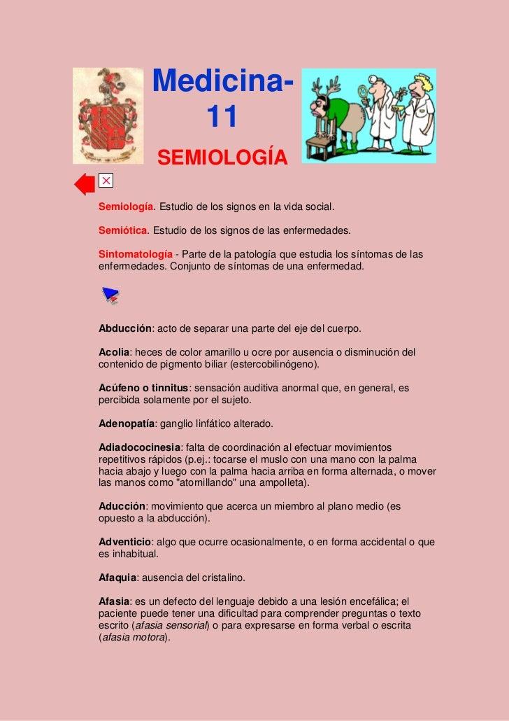 semiologia terminos