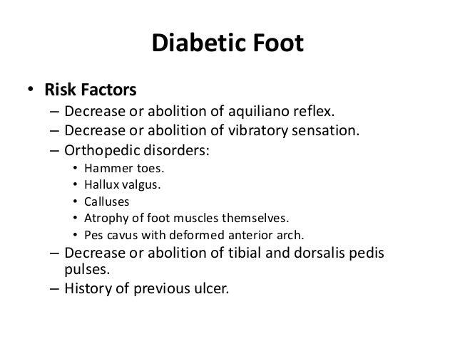 Semiology of diabetes mellitus