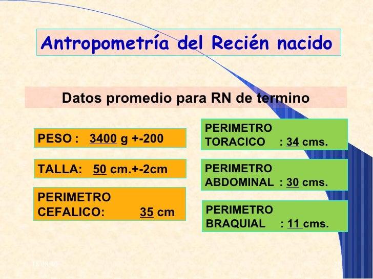 Atenci n inmediata del reci n nacido for Antropometria de la vivienda pdf