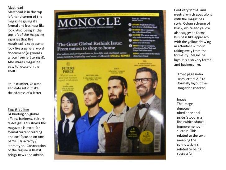 analysis magazine covers semiotic theory