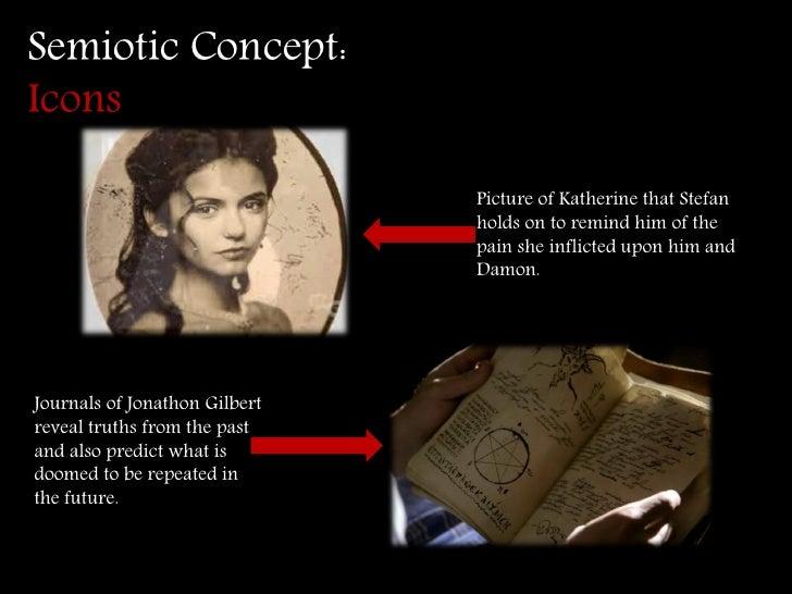 Semiotic study of vampires and vampires