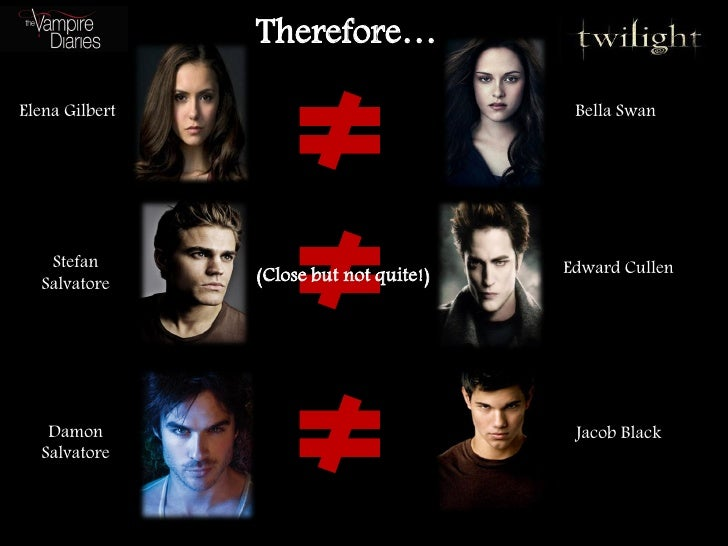 therefore elena gilbert bella swan stefan edward cullen salvatore ... Bellaswan