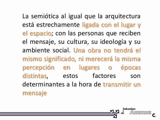 Semiotica objetual de la arquitectura for Obra arquitectonica definicion