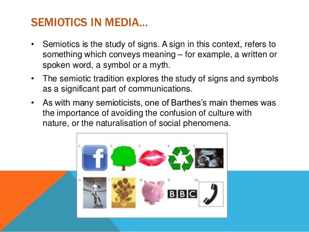 the semiotic tradition in communication theory essay Making sense of the seven communication traditions  communication theory, research methods, introduction to communication  semiotic tradition: communication is .