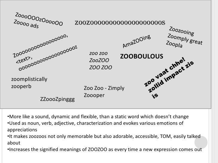 Semiotics Zoozoo Slide 3