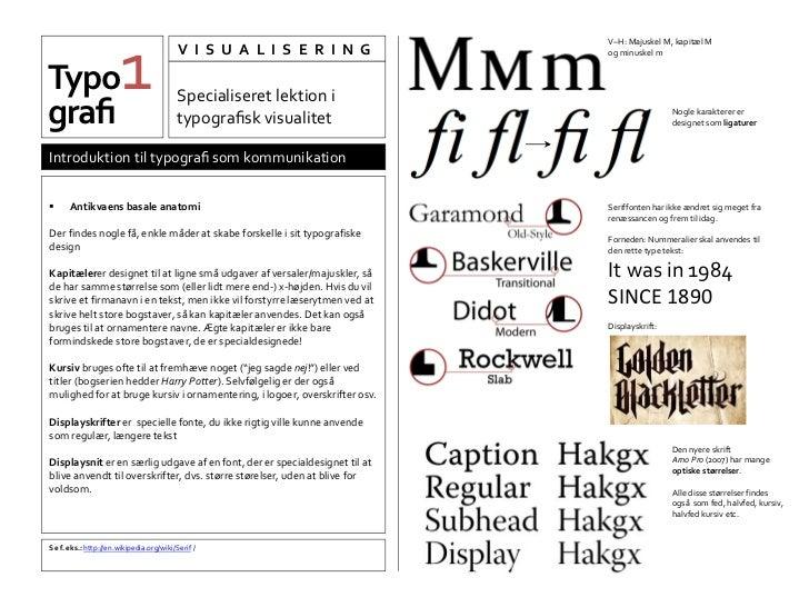 lille bogstav typografi