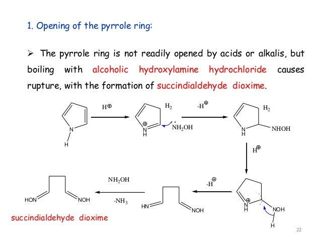 Heterocyclic Ring Opening