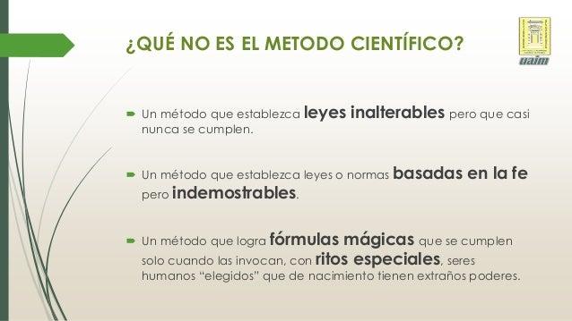 La ciencia y el m todo cient fico for En que consiste el metodo cientifico