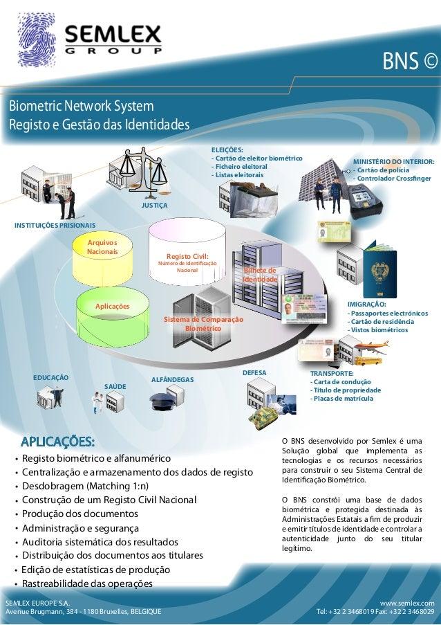 SEMLEX EUROPE PASSEPORT PASSPORT PASSAPORTE PASAPORTE ﺯﺍﻭﺝ ﺭﻑﺱﻝﺍ Sistema de Comparação Biométrico Aplicações Registo C...