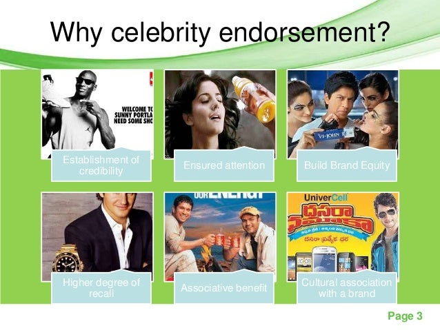 celebrity endorsement why it becomes a A halo effect occurs when a company or product  they release a product that becomes popular  if the celebrity gets involved in a public.