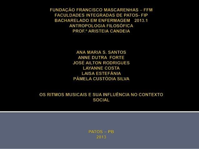 TRABALHO SOLICITADO PELA PROFESSORAARISTEIA CANDEIA DE MELLO, DAS FACULDADESINTEGRADAS DE PATOS, COMO REQUISITO PARAOBTENÇ...